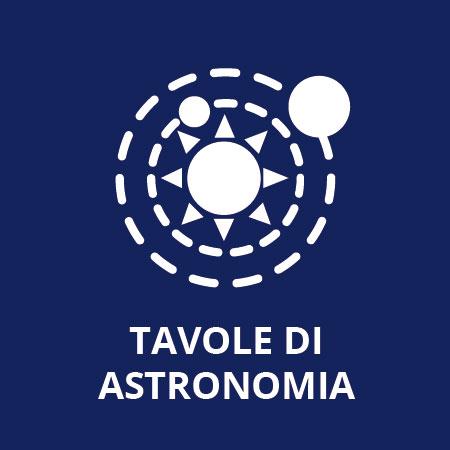 - R - Tavole di astronomia