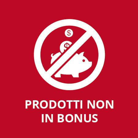 Prodotti non in bonus